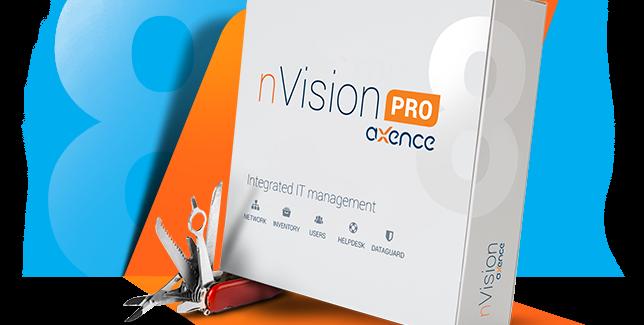 """Pristatyta nauja """"Axence nVsion"""" versija su atnaujintu Pagalbos moduliu"""