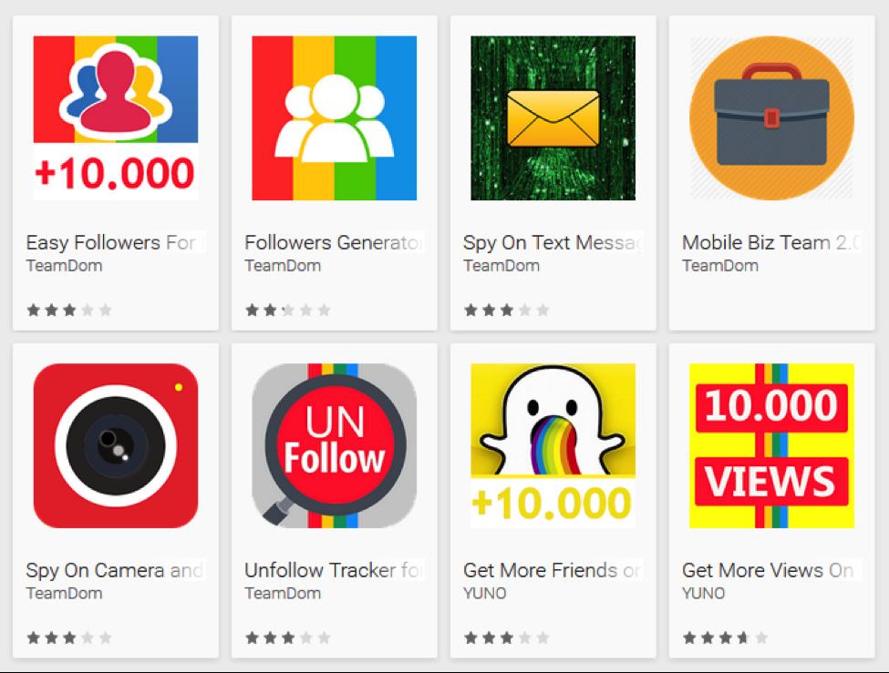 bogus apps
