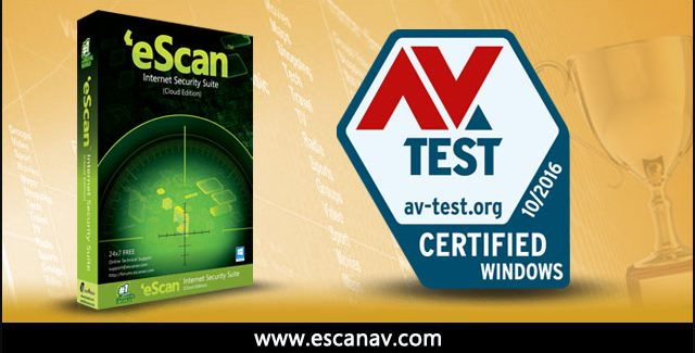 """eScan Internet Security Suite"" – sertifikuota ""AV-TEST"""