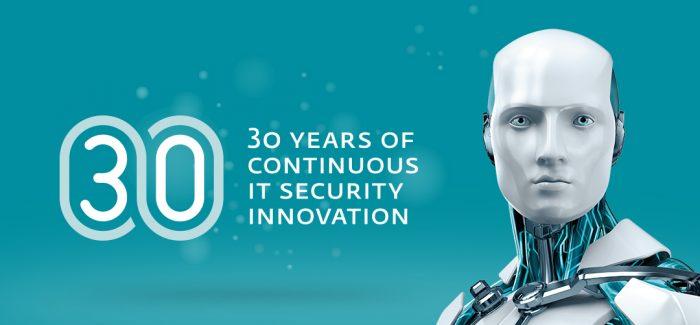 ESET kviečia drauge švęsti 30 įmonės gyvavimo metų