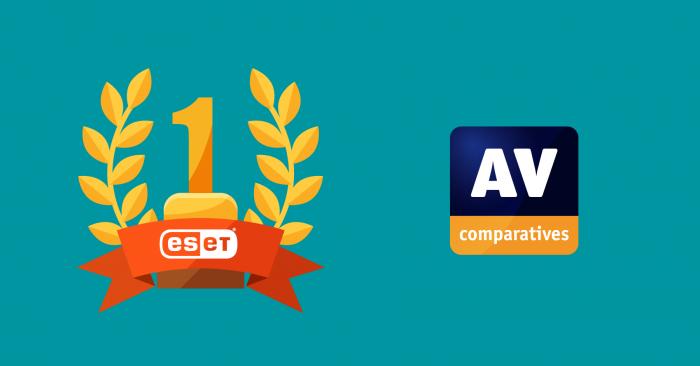 """""""AV-Comparatives"""" kibernetinio saugumo apdovanojimuose ESET produktus įvertino Aukso medaliu"""