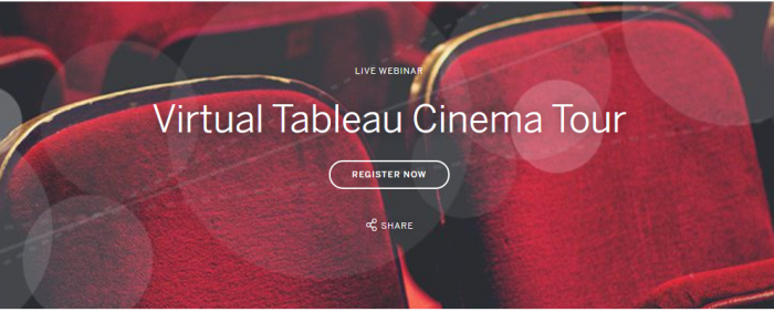 Kviečiame į Webseminarą Virtual Tableau Cinema Tour