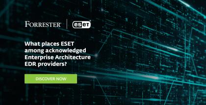 Tyrimų įmonė Forrester: ESET saugumo sprendimai atitinka net ir didžiausių įmonių poreikius