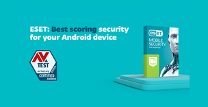 """ESET Mobile Security """"AV-Test"""" įvertina aukščiausiu balu"""