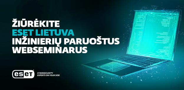 Internetiniai seminarai prasideda dabar!