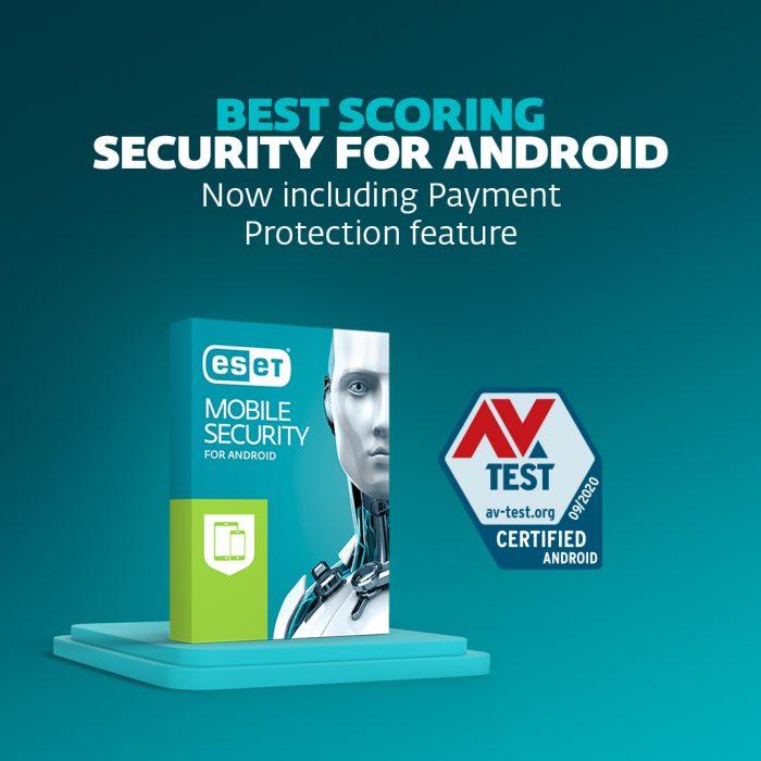 """""""ESET Mobile Security"""" įvertinta pagal """"AV-TEST"""" kaip geriausia Android apsauga"""